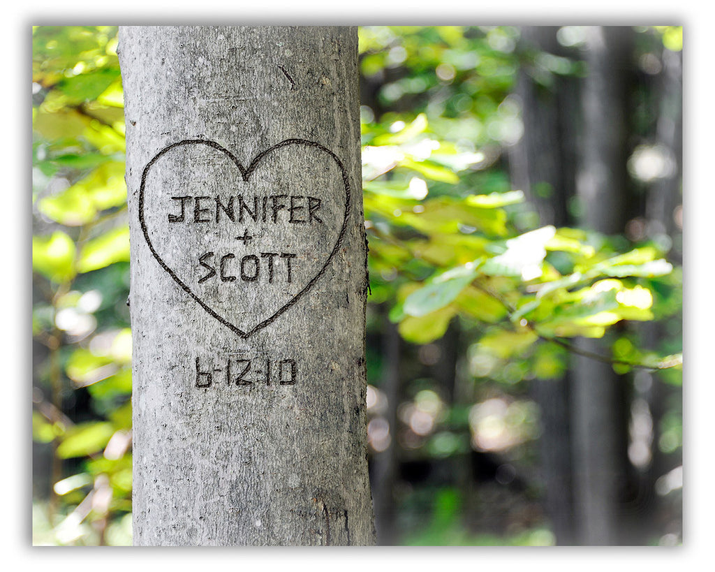 tree print for couples