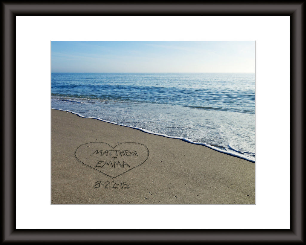personalized beach wall art