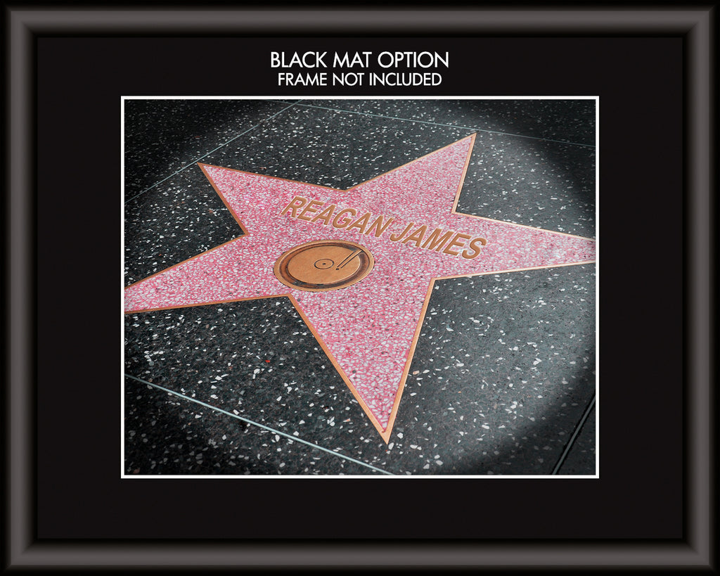 Custom Hollywood Star Art Print