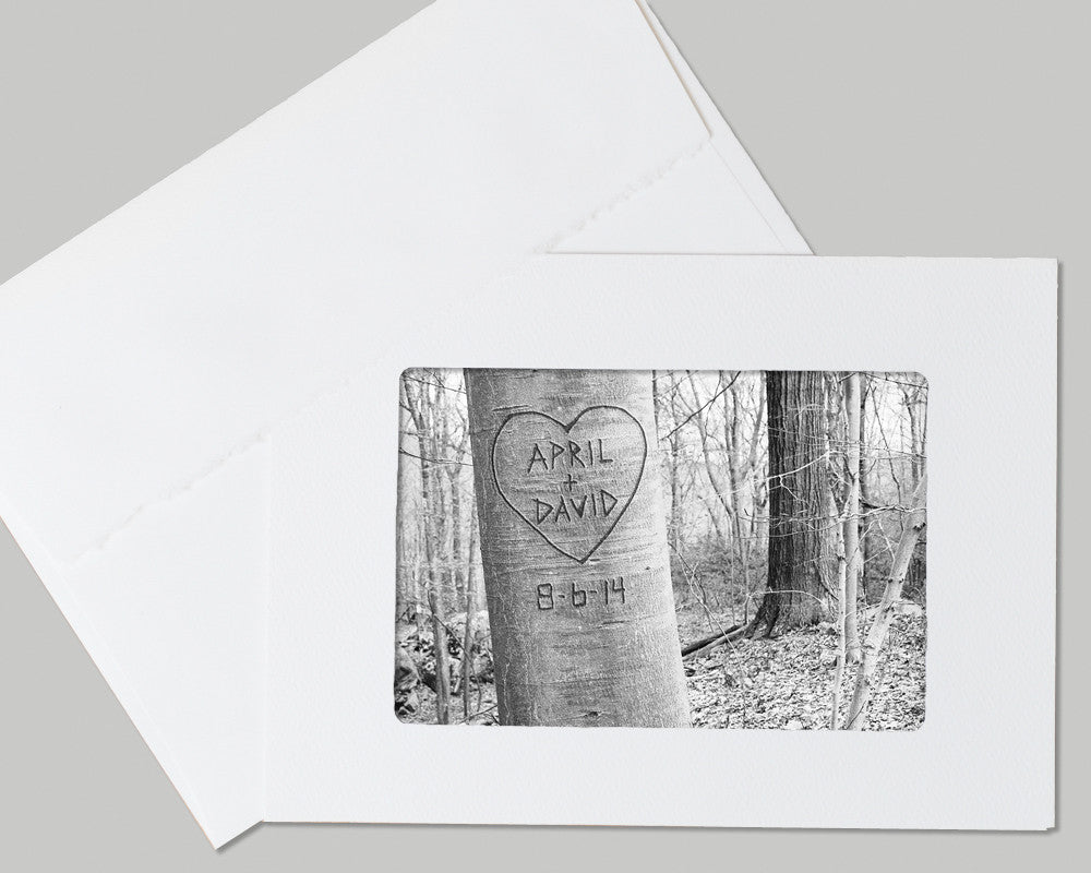 card with love tree