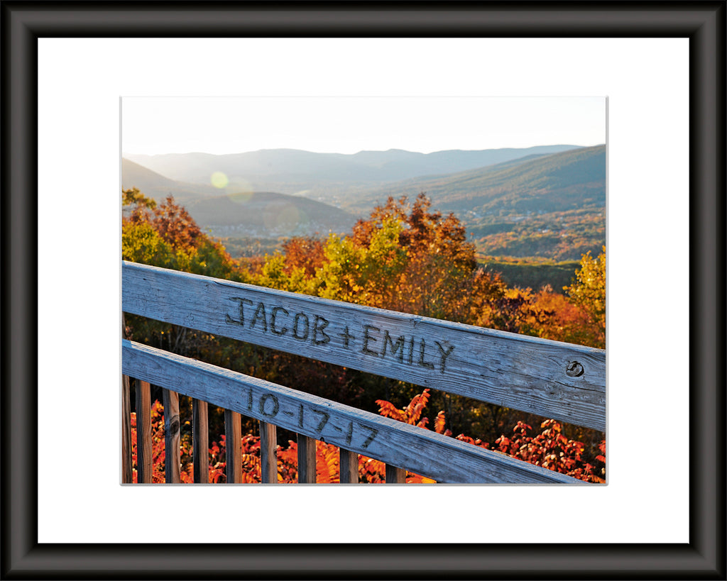 Mountain View Personalized Art