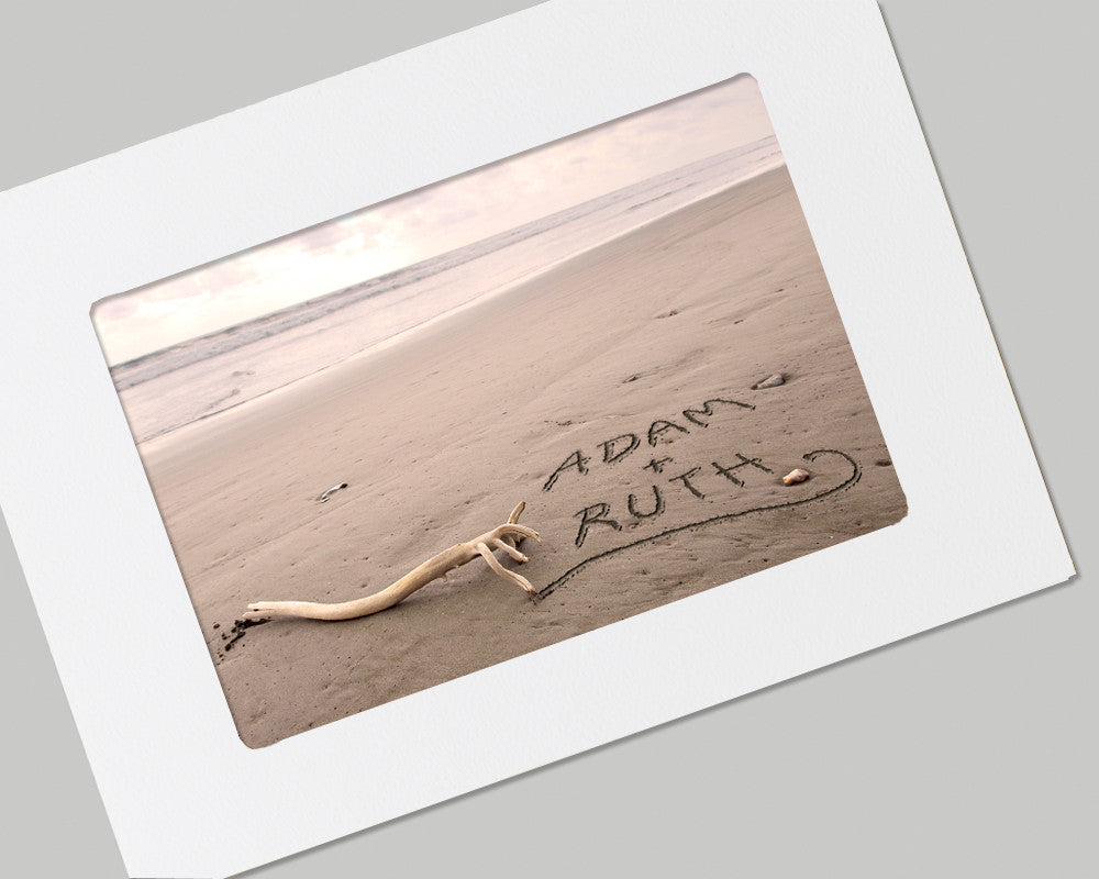 personalized  beach card