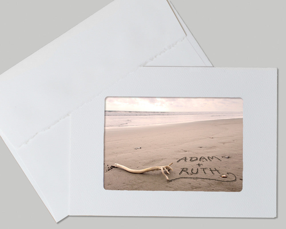 custom beach card