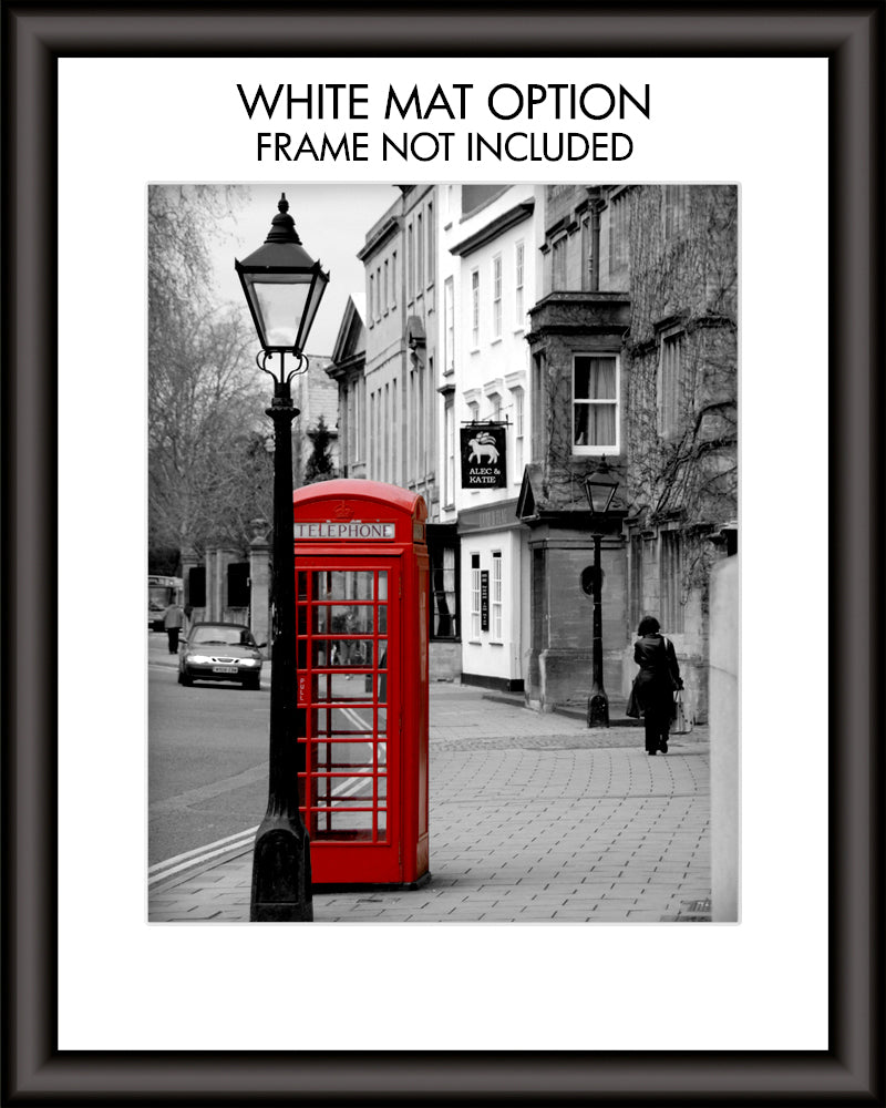 English Pub Personalized Wall Art