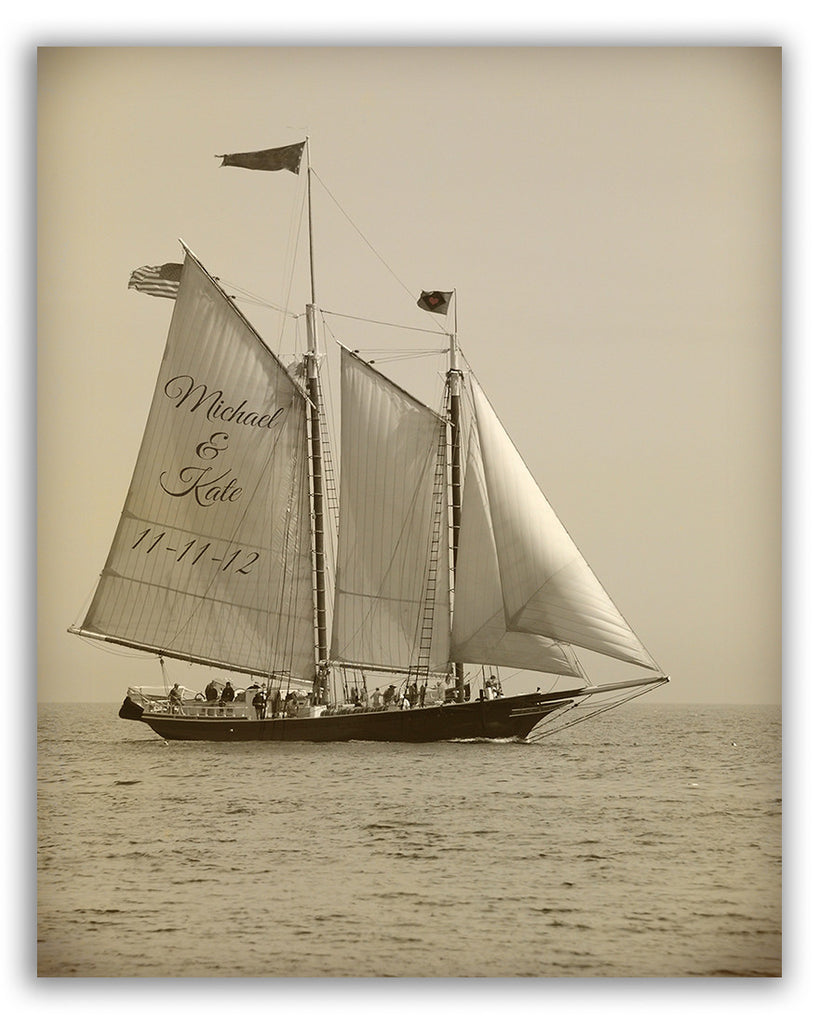 custom sailing art