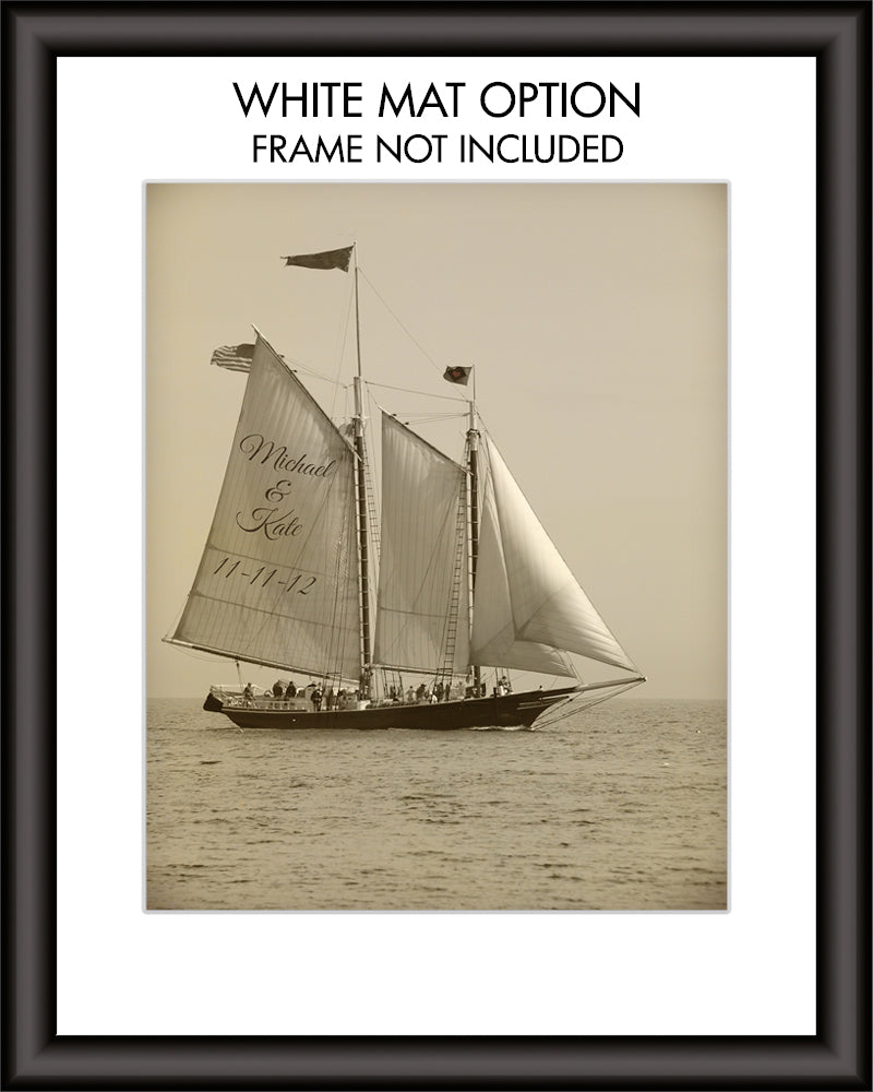 Sailing Personalized Print