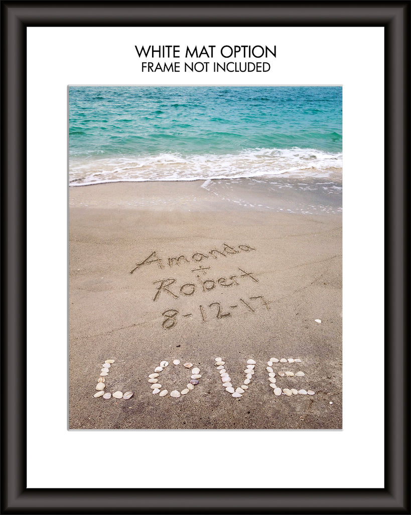 personalized beach art
