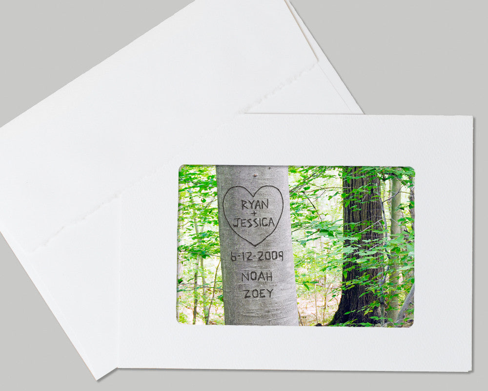 customized love tree card