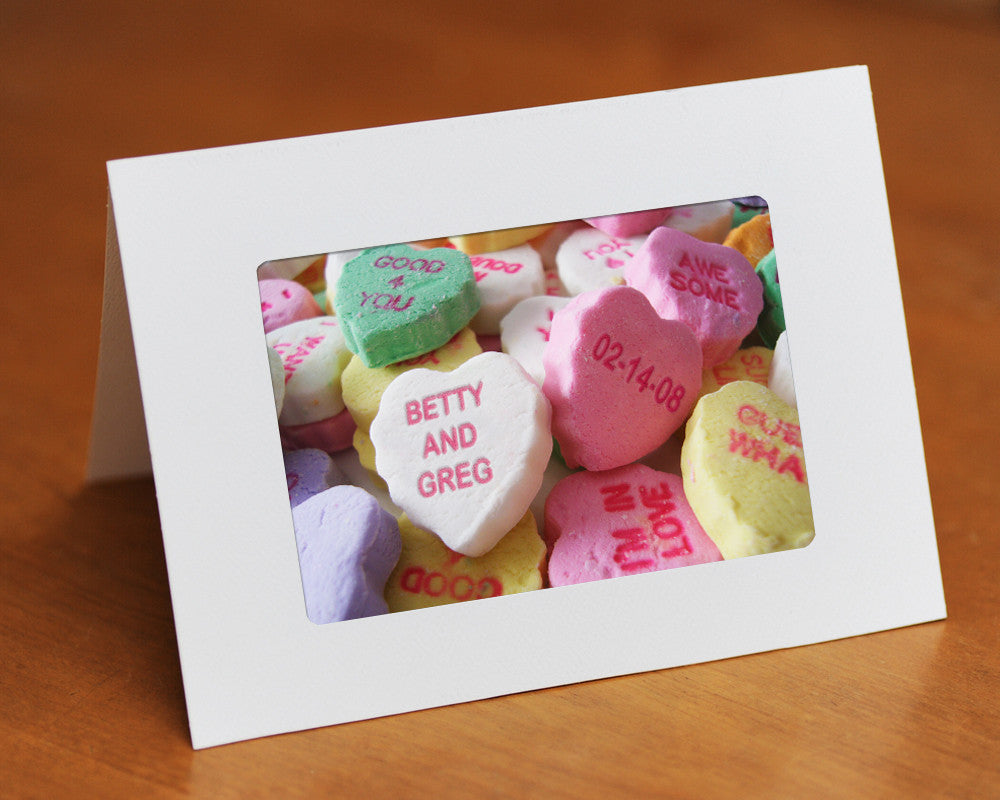 valentines day personalized card