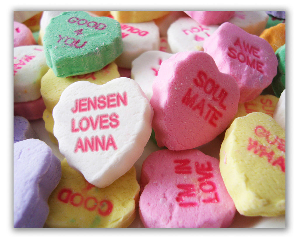 personalized candy print