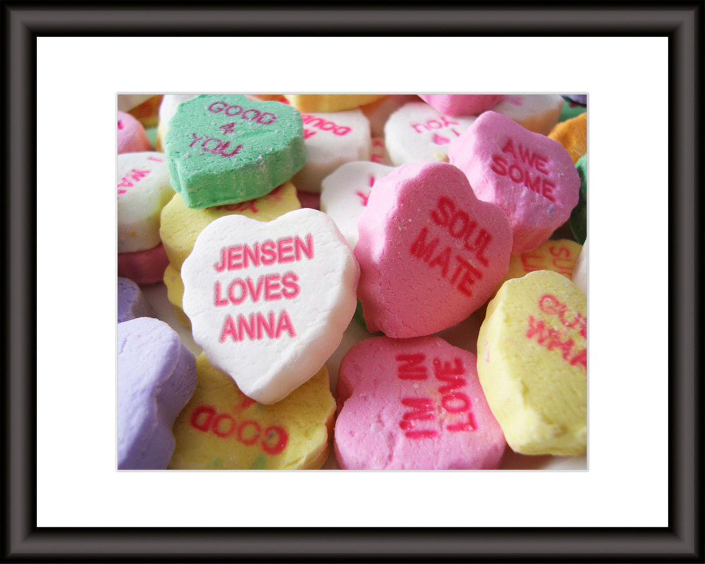 personalized sweetheart art print