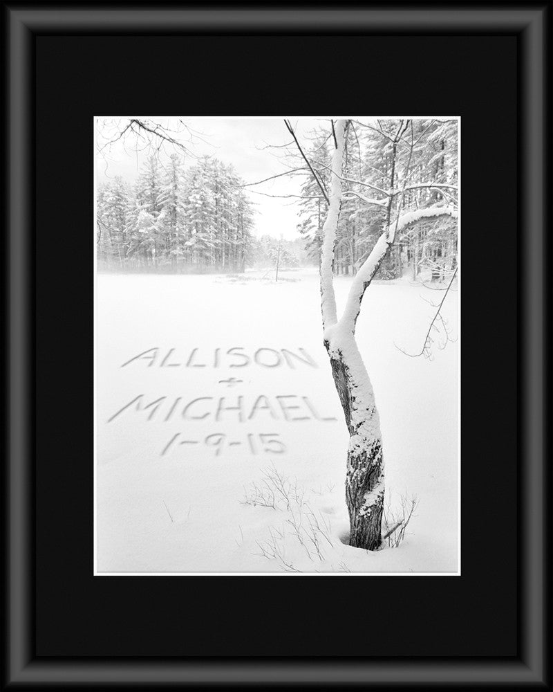 custom winter photograph