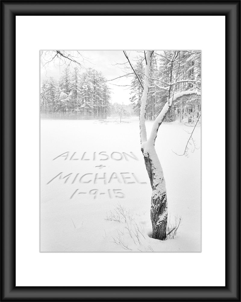 personalized winter decor