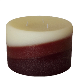 Vanilla Sandalwood Pillar Candles