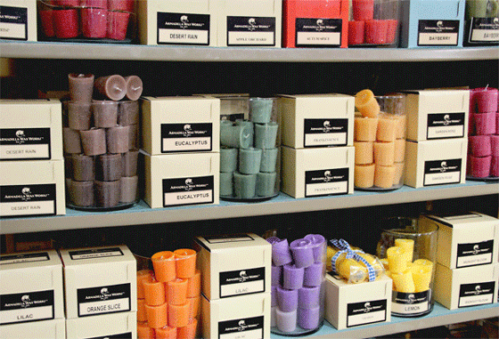 Votive Candles,BOX/18: Scented - Candle Factory Store