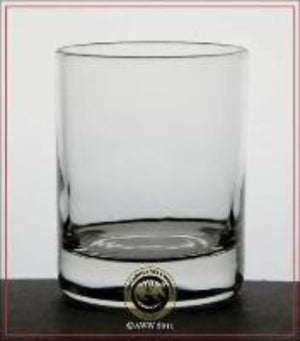 Simple straightforward votive glass made in the USA.