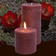 Cactus Flower Pillar candle