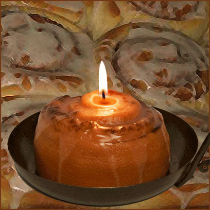 Cinnamon Roll Cinnamon Bun candles are just like the aroma of fresh baked rolls!