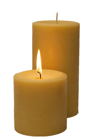 Double Fragrance Frankincense Pillar Candles