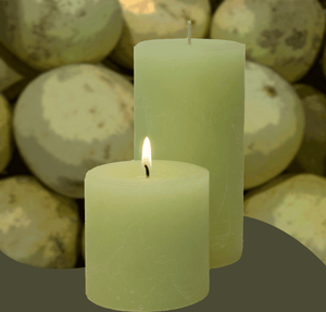Double Fragrance HoneyDew Melon Pillar Candles