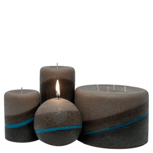 Scented Pillar Candles, Desert Rain - Candle Factory Store