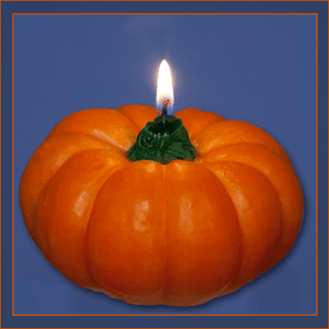 Pumpkin Floating Candle, Large