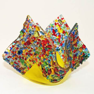 Glassworks Fused glass Votive Holders - Candle Factory Store