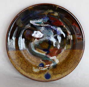 Hand thrown 6 inch Ceramic plate, Small - Candle Factory Store