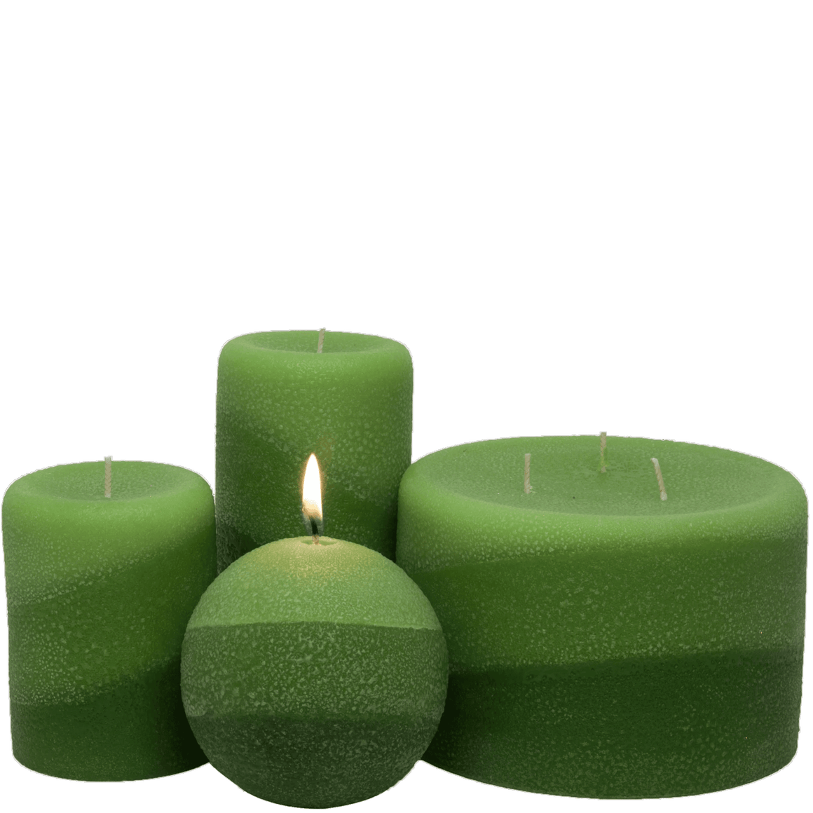 Scented Pillar Candle, Lemongrass - Candle Factory Store