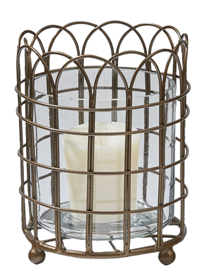 Garden Gate Wire Votive holder - Candle Factory Store