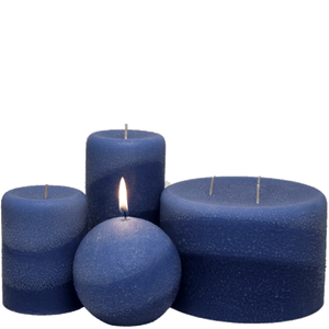Scented Pillar Candles, Starry Night - Candle Factory Store