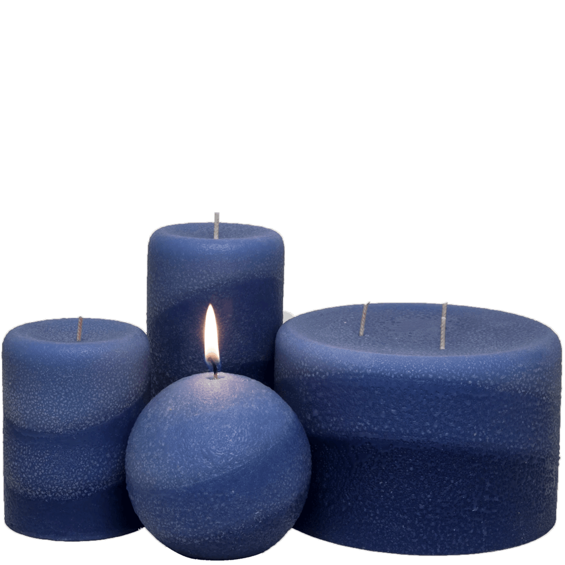 Scented Pillar Candles, Starry Night - Armadilla Wax Works Candle Factory Store