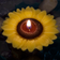 Sunflower 3 inch Floating Candle