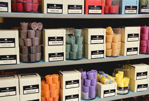 Votive Candles, SINGLE, Scented - Candle Factory Store