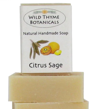 Wild Thyme Botanicals Natural Handmade Soap - Candle Factory Store