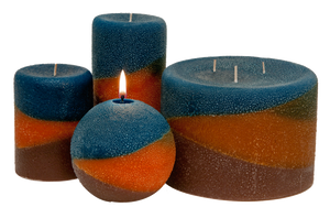 Scented Pillar candles, Copper Canyon - Candle Factory Store