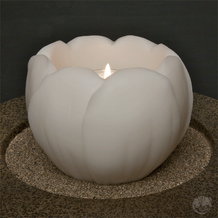 Wax Luminary Floating candle is reusable! MAde by Armadilla Wax Works.