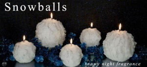 Snowball Candles - Snowy Night Fragrance - Candle Factory Store
