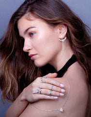 Crystal Leaf Double Ring_Model_Benique