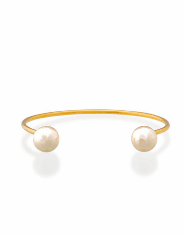 Lost Dream Pearl Cuff (Gold)_Benique