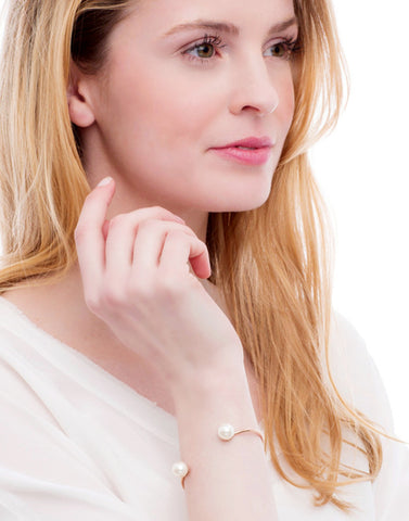Lost Dream Pearl Cuff (Rose Gold)_Model_Benique