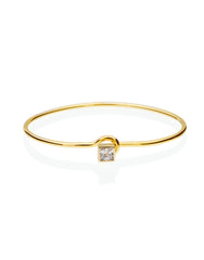 Royalty Cystal Diamond Bangle_Benique