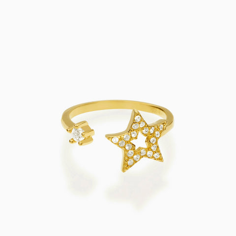 Catch A Falling Star Midi Ring