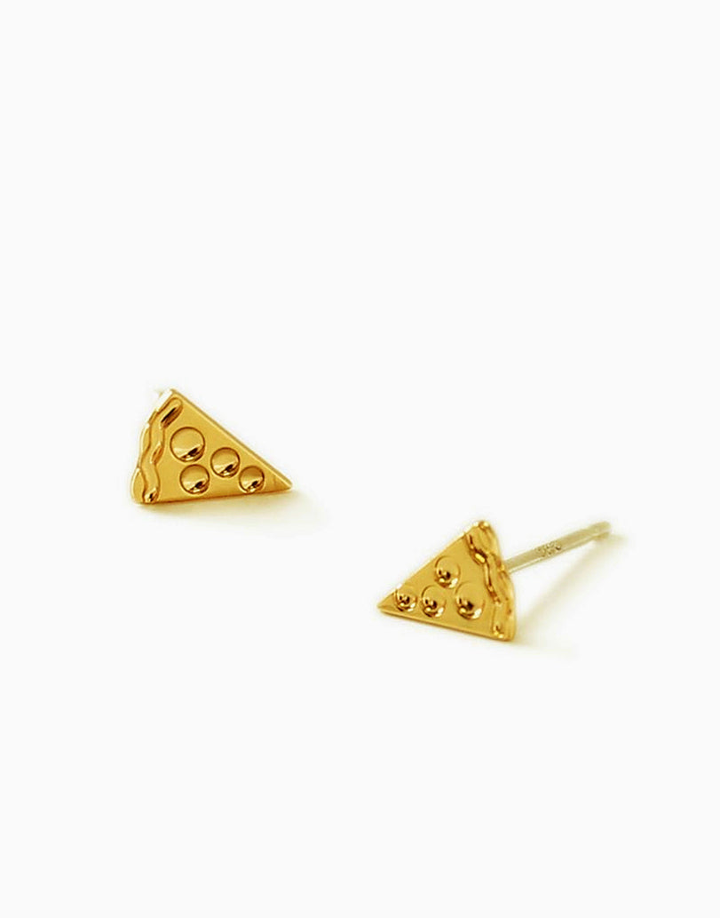 Pizza Emoji Stud Earrings_Benique