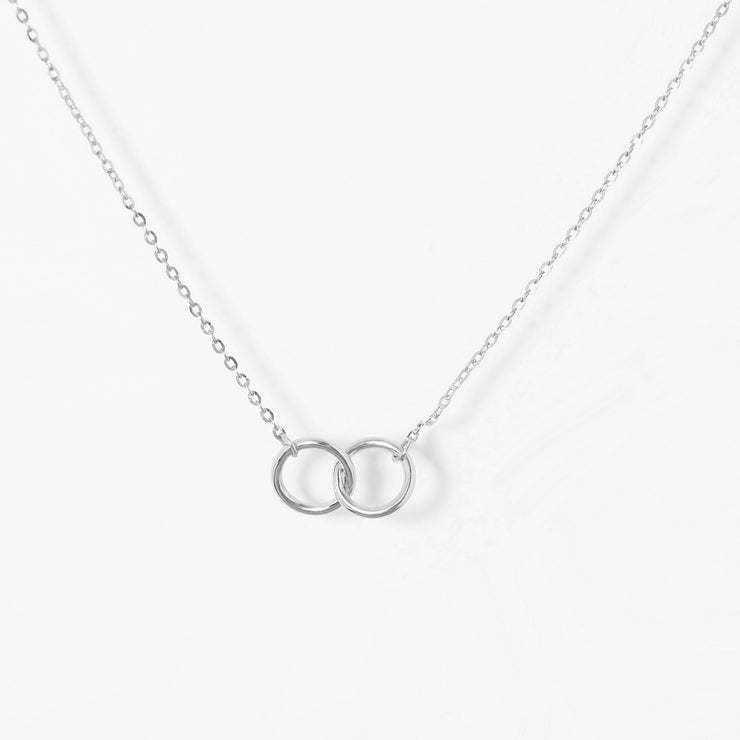 Interlocking Circles Necklace