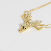 Starlight Stag Necklace