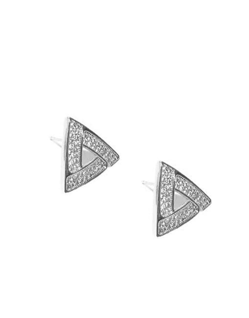Iceberg Stud Earrings_Benique
