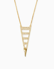 Triangular Pendant Necklace_Benique
