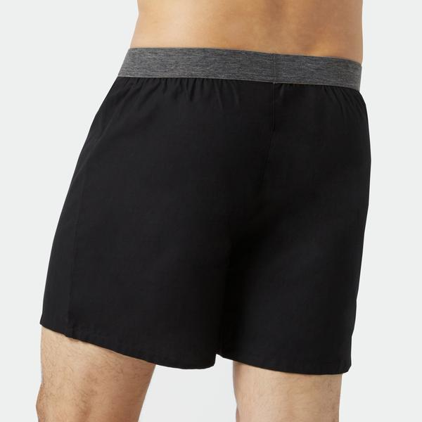 Blue Shadow/Regatta Poplin Boxers 3pk