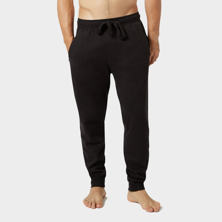 Mood Indigo Heather Fleece Zip Joggers